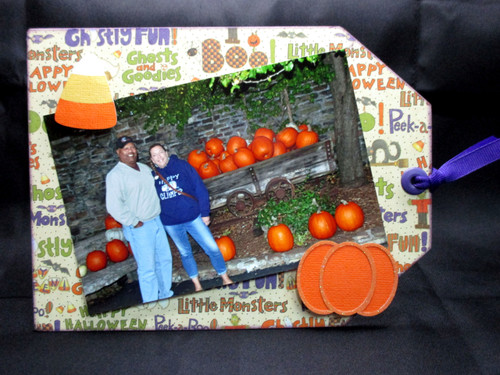 Halloween 6 x 8 Magnetic Photo Frame & Accessory Magnets by SSC Designs