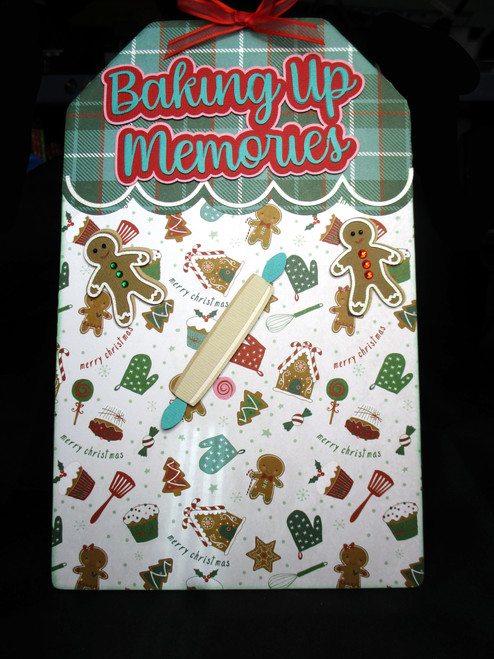 Baking Up Memories 6.5 x 10 Magnetic Photo Frame & Accessory Magnets by SSC Designs