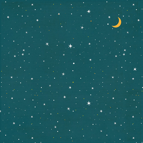 Cabin Fever Collection Morning Till Night 12 x 12 Double-Sided Scrapbook Paper by Photo Play Paper