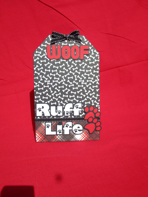 Ruff Life 6.5 x 10 Interactive, Magnetic Photo Frame & Accessory Magnets by SSC Designs