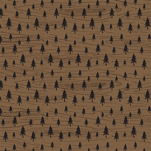 Let's Lumberjack Collection Animal Tracks 12 x 12 Double-Sided Scrapbook Paper by Echo Park Paper