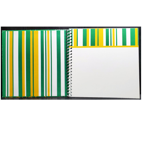 Crystal Lake South Gators, Crystal Lake, IL, Mini Album Kit includes album, sticker, and cardstock  by Scrapbook Customs