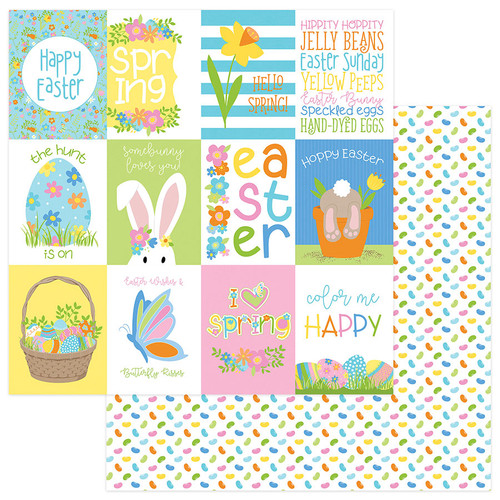Bunny Trail Collection Pack by Photo Play Paper 13-Piece Collection- 12 Papers, 1 Sticker