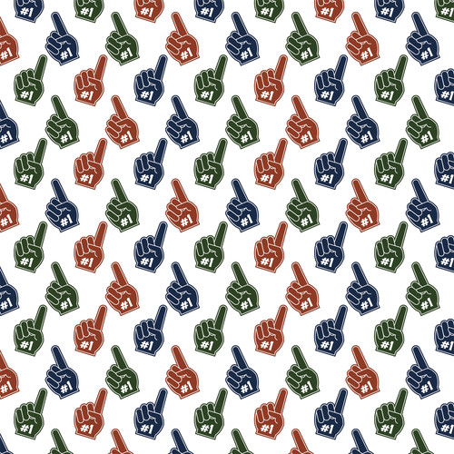 Football Collection Touchdown 12 x 12 Double-Sided Scrapbook Paper by Echo Park Paper