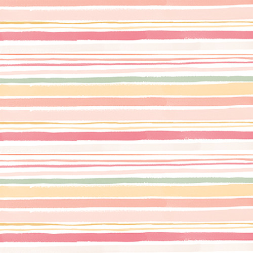 Welcome Baby Girl Collection Rainbows 12 x 12 Double-Sided Scrapbook Paper by Echo Park Paper