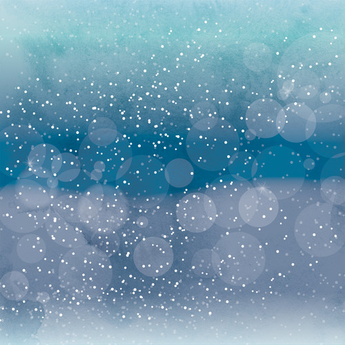 Winter Magic Collection Let It Snow 12 x 12 Double-Sided Scrapbook Paper by Echo Park Paper
