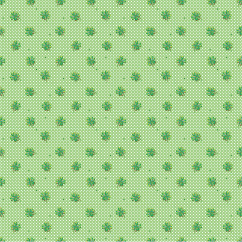 Lucky Irish Collection Lucky Day 12 x 12 Double-Sided Scrapbook Paper by Reminisce