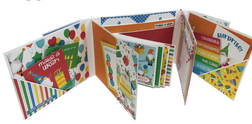 Maker Series Collection Folio 5 Interactive 5.5 x 7 Album by Photo Play Paper