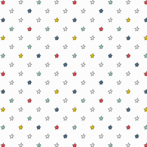 Little Boys Have Big Adventures Collection You're a Star 12 x 12 Double-Sided Scrapbook Paper by Photo Play Paper