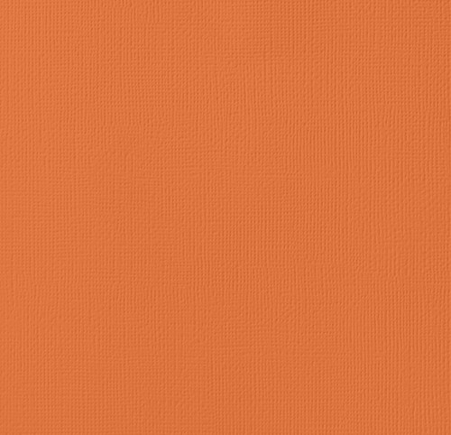Apricot 12 x 12 Textured Cardstock by American Crafts