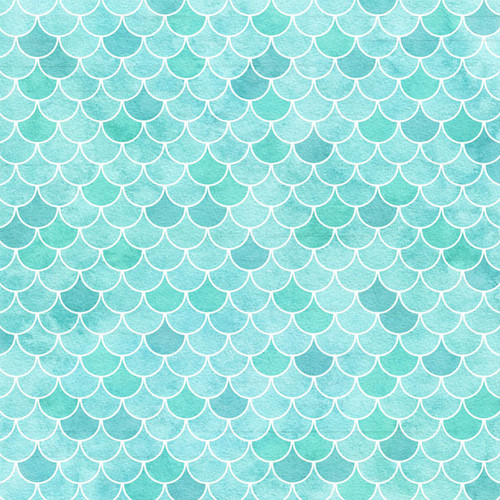 Vacay Collection Shells 12 x 12 Double-Sided Scrapbook Paper by Scrapbook Customs