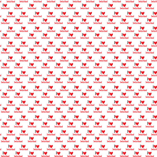 Travel Adventure Collection Switzerland Map 12 x 12 Double-Sided Scrapbook Paper by Scrapbook Customs
