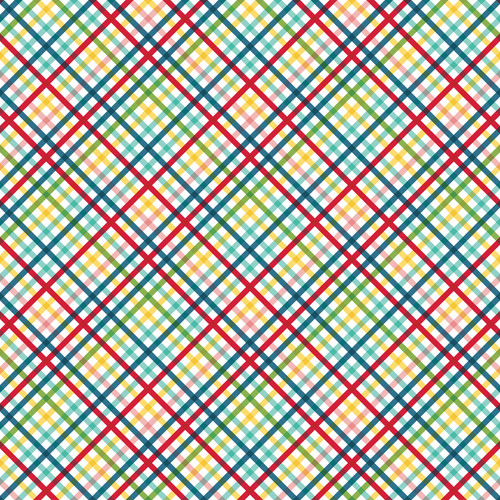 Slice of Summer Collection Best Summer Ever 12 x 12 Double-Sided Scrapbook Paper by Echo Park Paper