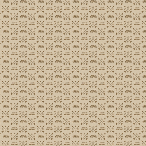 Outdoor Adventures Collection Campfire Stripe 12 x 12 Double-Sided Scrapbook Paper by Carta Bella