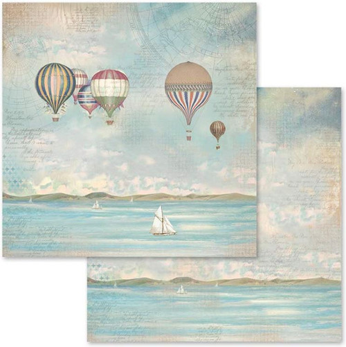 Sea Land Collection 12 x 12 Scrapbook Paper Pack by Stamperia