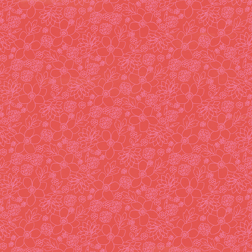 Sunkissed Collection Chill Out 12 x 12 Double-Sided Scrapbook Paper by Simple Stories