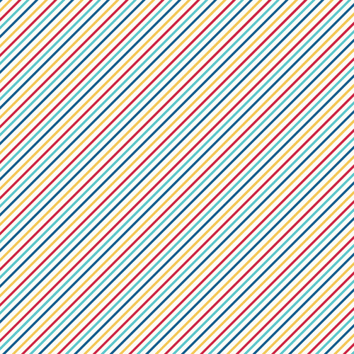 Stars, Stripes & Sparklers Collection Elements & Stripes 12 x 12 Double-Sided Scrapbook Paper by Simple Stories