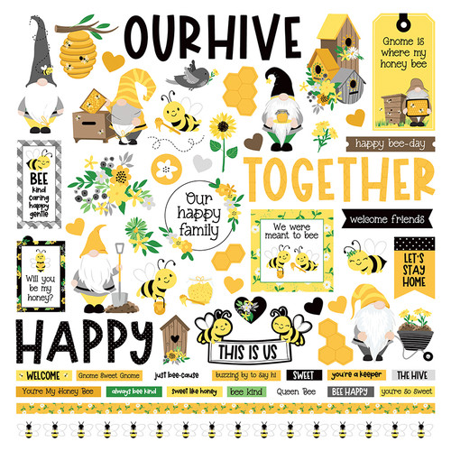 Sweet as Honey Collection Pack by Photo Play Paper 13-Piece Collection-12 Papers, 1 Sticker