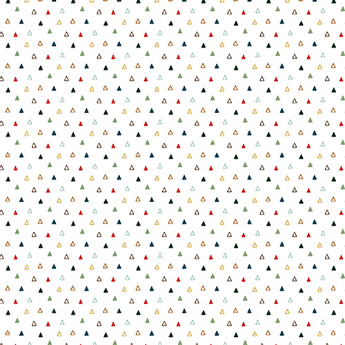 Let's Go Camping Collection Wild Plaid 12 x 12 Double-Sided Scrapbook Paper by Echo Park Paper