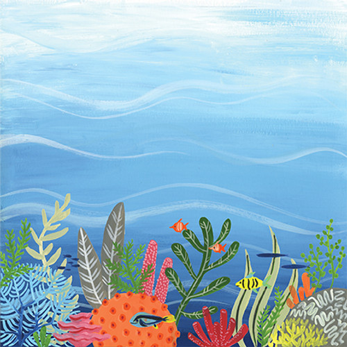 Under Sea Adventures Collection Multi Journaling Cards 12 x 12 Double-Sided Scrapbook Paper by Echo Park Paper