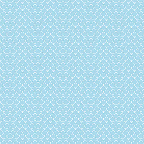 Under Sea Adventures Collection Whale Hello 12 x 12 Double-Sided Scrapbook Paper by Echo Park Paper