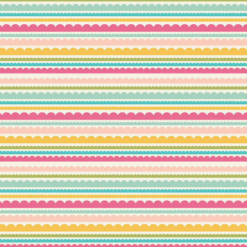 Best Year Ever Collection June 12 x 12 Double-Sided Scrapbook Paper by Simple Stories