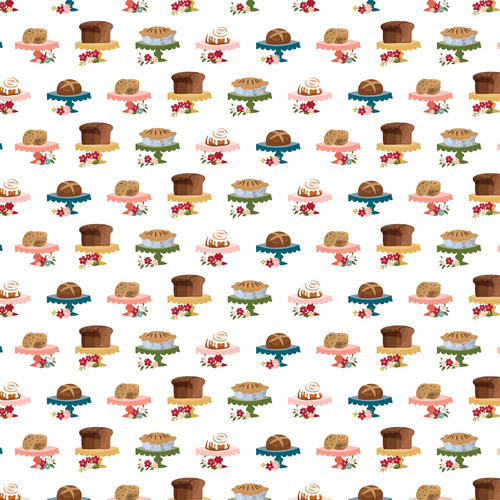 Farmer's Market Collection 3 x 4 Journaling Cards 12 x 12 Double-Sided Scrapbook Paper by Echo Park Paper