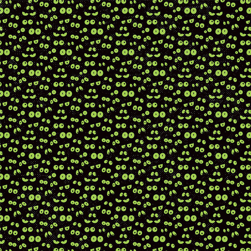 Monster Mash Collection Spooky 12 x 12 Double-Sided Scrapbook Paper by Photo Play Paper