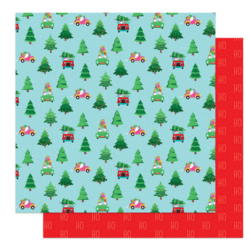Tulla & Norbert's Christmas Party Collection 12 x 12 Paper & Sticker Collection Pack by Photo Play Paper
