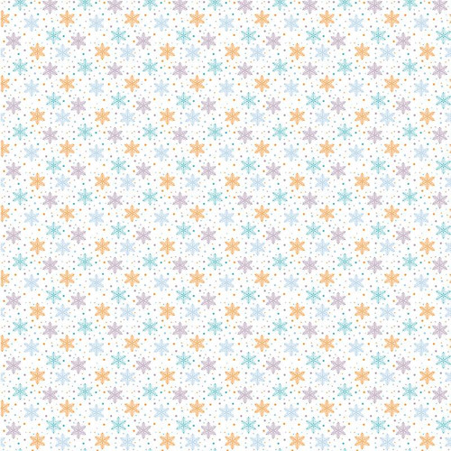 Snow Much Fun Collection Just Chillin' Tags 12 x 12 Double-Sided Scrapbook Paper by Paper House Productions