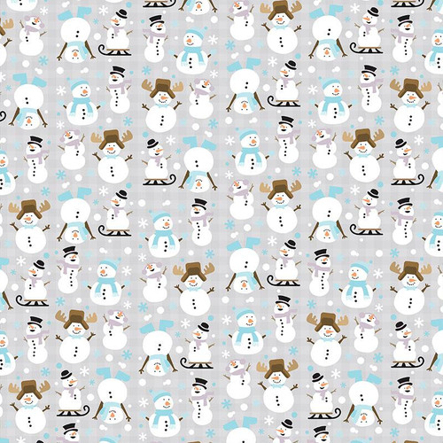 Snow Much Fun Collection Stay Cool Tags 12 x 12 Double-Sided Scrapbook Paper by Paper House Productions