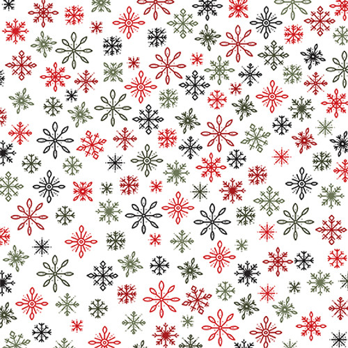 Christmas Salutations Collection 6X4 Journaling Cards 12 x 12 Double-Sided Scrapbook Paper by Echo Park Paper