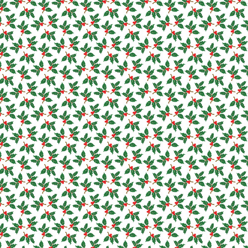 Christmas Cheer Collection Season's Greetings 12 x 12 Double-Sided Scrapbook Paper by Carta Bella