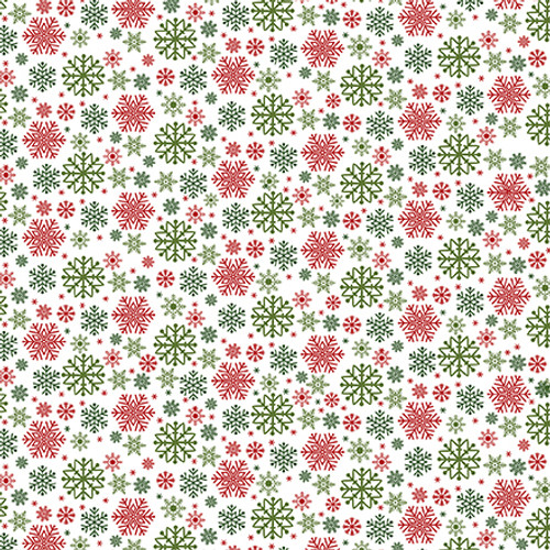 Christmas Magic Collection Journaling Cards 12 x 12 Double-Sided Scrapbook Paper by Echo Park Paper
