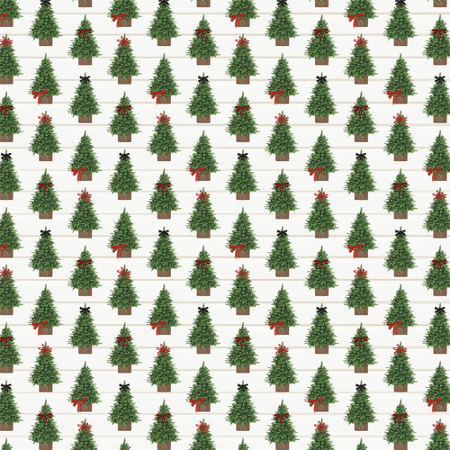 Home For Christmas Collection 4X4 Journaling Cards 12 x 12 Double-Sided Scrapbook Paper by Carta Bella