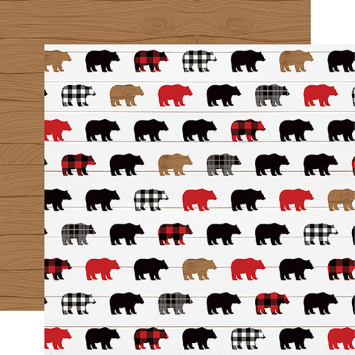 Little Lumberjack Collection 13-Piece Collection Kit by Echo Park Paper-12 Papers, 1 Sticker