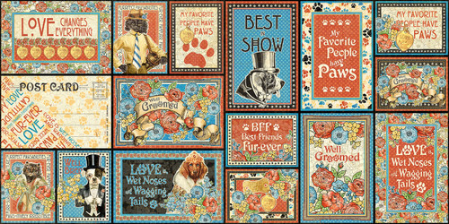 Well Groomed Collection 4 x 6 and 3 x 4 Journaling & Ephemera Scrapbook Cards by Graphic 45 - 32 Pieces