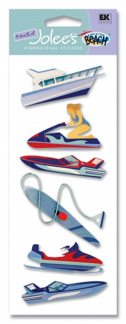 Water Sports Vacation Scrapbook Embellishment by EK Success