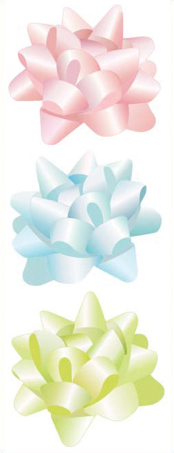 3D Bows Scrapbook Embellishment by Jolee's By You