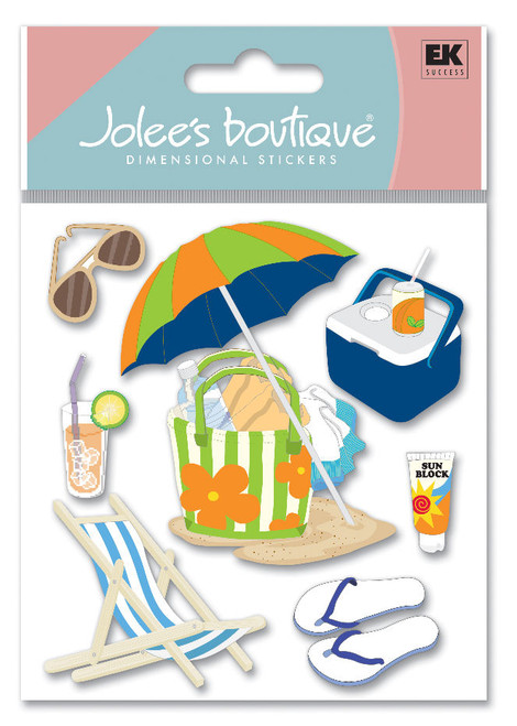 Summer Gear Scrapbook Embellishment by Jolee's Boutique