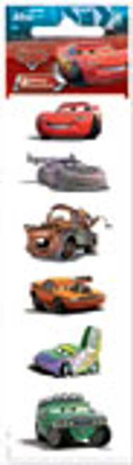 Disney Cars Collection Glitter Cars Slim Scrapbook Embellishment by Sandylion
