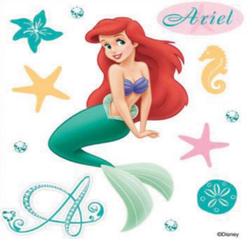 Disney The Little Mermaid Collection Ariel Scrapbook Embellishment by EK Success