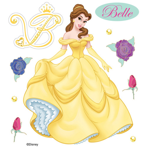 Disney Beauty & The Beast Collection Belle 4 x 5 Scrapbook Embellishment by EK Success