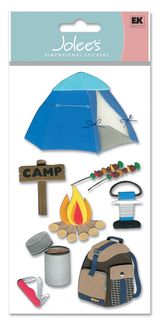 Camp Dimensional Scrapbook Embellishment by EK Success