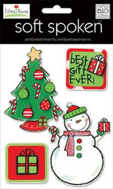 Ellen Holiday Collection Best Gift Ever Embellishment by Me & My Big Ideas