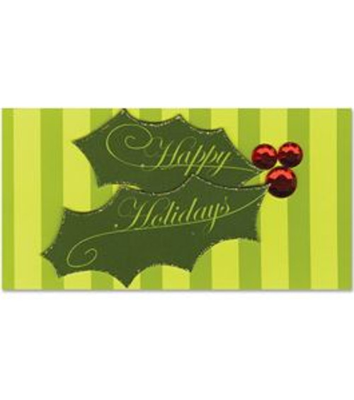 Happy Holidays Paper Bliss Embellishment by Paper Bliss