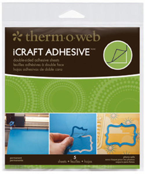 iCraft Permanent Adhesive Sheets by Therm-O-Web - Pkg. of 5