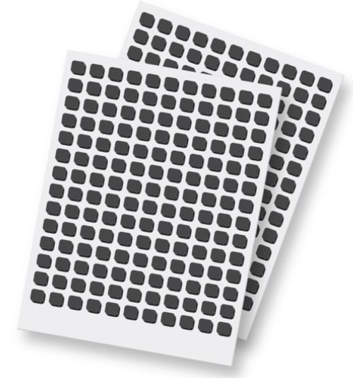 3D Foam Squares Black Small by Scrapbook Adhesives