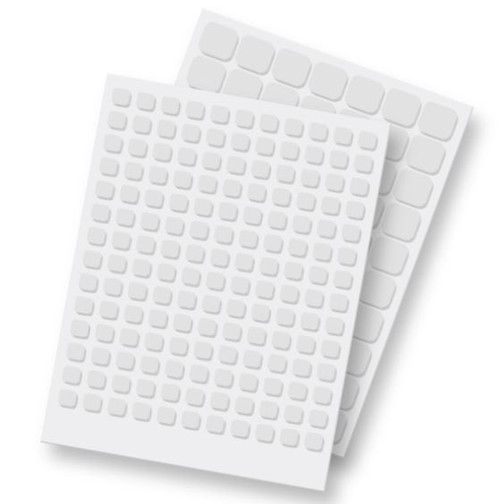 3D Foam Squares White Variety Pack by Scrapbook Adhesives - Pkg. of 217