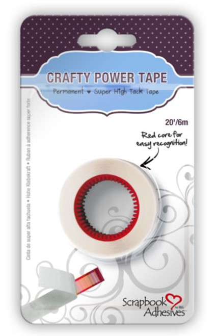 Crafty Super High Tack Power Tape Refill by Scrapbook Adhesives - 20'